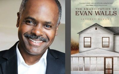"The September ""Author Series"" features Award Winning Author Jeffrey Blount, author of The Emancipation of Evan Walls."