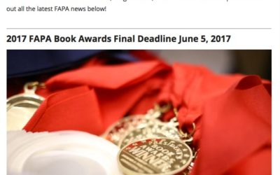 May 2017 FAPA Newsletter Is Out!