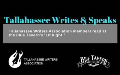 "New TWA Program ""Tallahassee Writes & Speaks"" kicks off next week!"