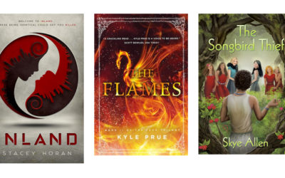 FAPA 2017 Book Awards Medalists Fiction: Young Adult Paranormal-Sci-Fi-Fantasy