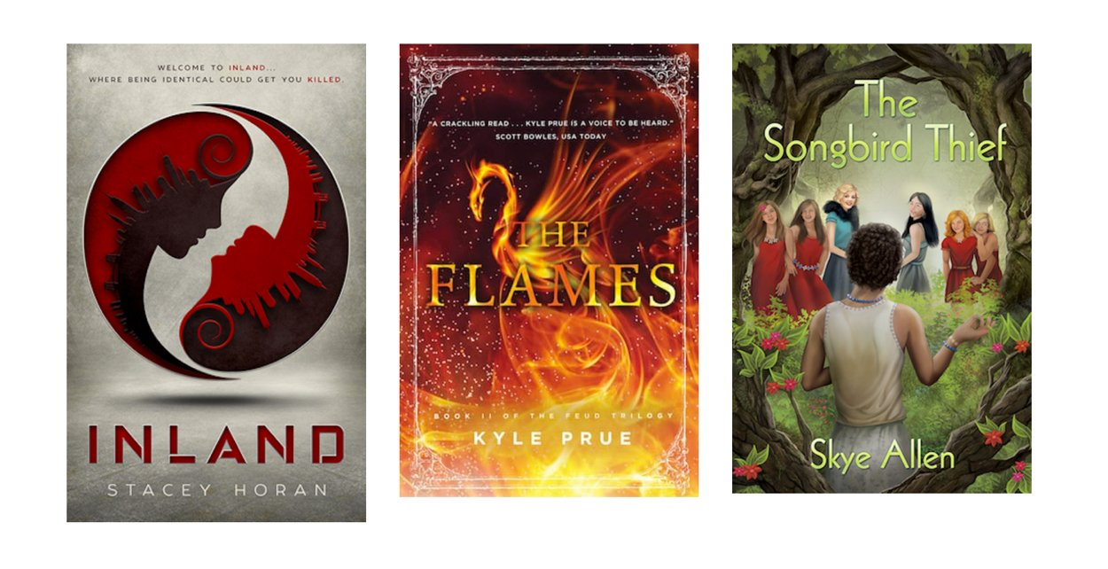 Young Adult Paranormal-Sci-Fi-Fantasy Medalists