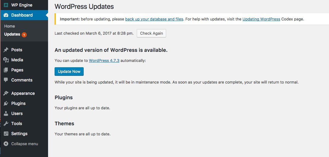 Image result for WordPress Security Version 4.7.3